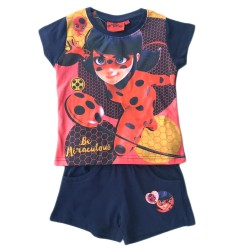 Pyjama Ladybug Miraculous Summer Set 2 pieces Cotton