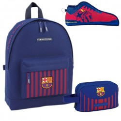 Backpack FC Barcelona Large School Bag 43x32x15cm