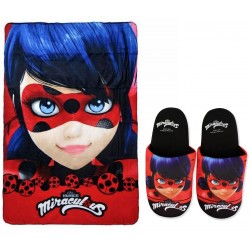 Miraculous Ladybug Marinette Throw Blanket Original Manta Polar
