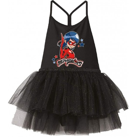 Miraculous Ladybug Girls Tulle Party Special Occasion Dress
