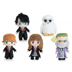 Harry Potter Plush Toy 5 Characters Super Soft 8 inch Famosa Softies Official