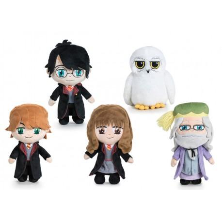 Peluche Harry Potter Pack 5 Personajes 20cm