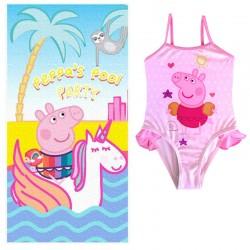 Toalla + Bañador Peppa Pig Original