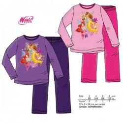 Pijama Winx Club Largo Violeta