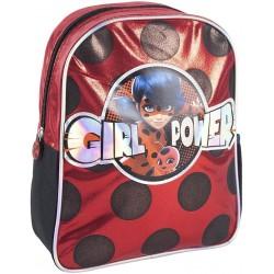 Backpack Miraculous Ladybug 31cm Small Glitter Design Bag