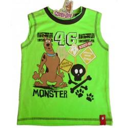 Camiseta SCOOBY DOO Monster Verde