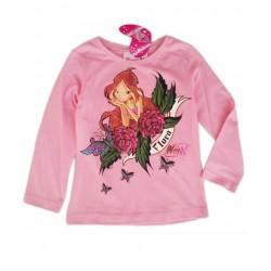 Camiseta WINX CLUB FLora M. Larga Lila