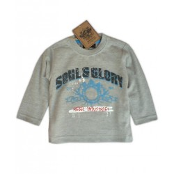 Camiseta SOUL&GLORY Rebel Industries ML Gris