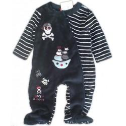 Pijama Entero Niño Pelele PIRATA Afelpado